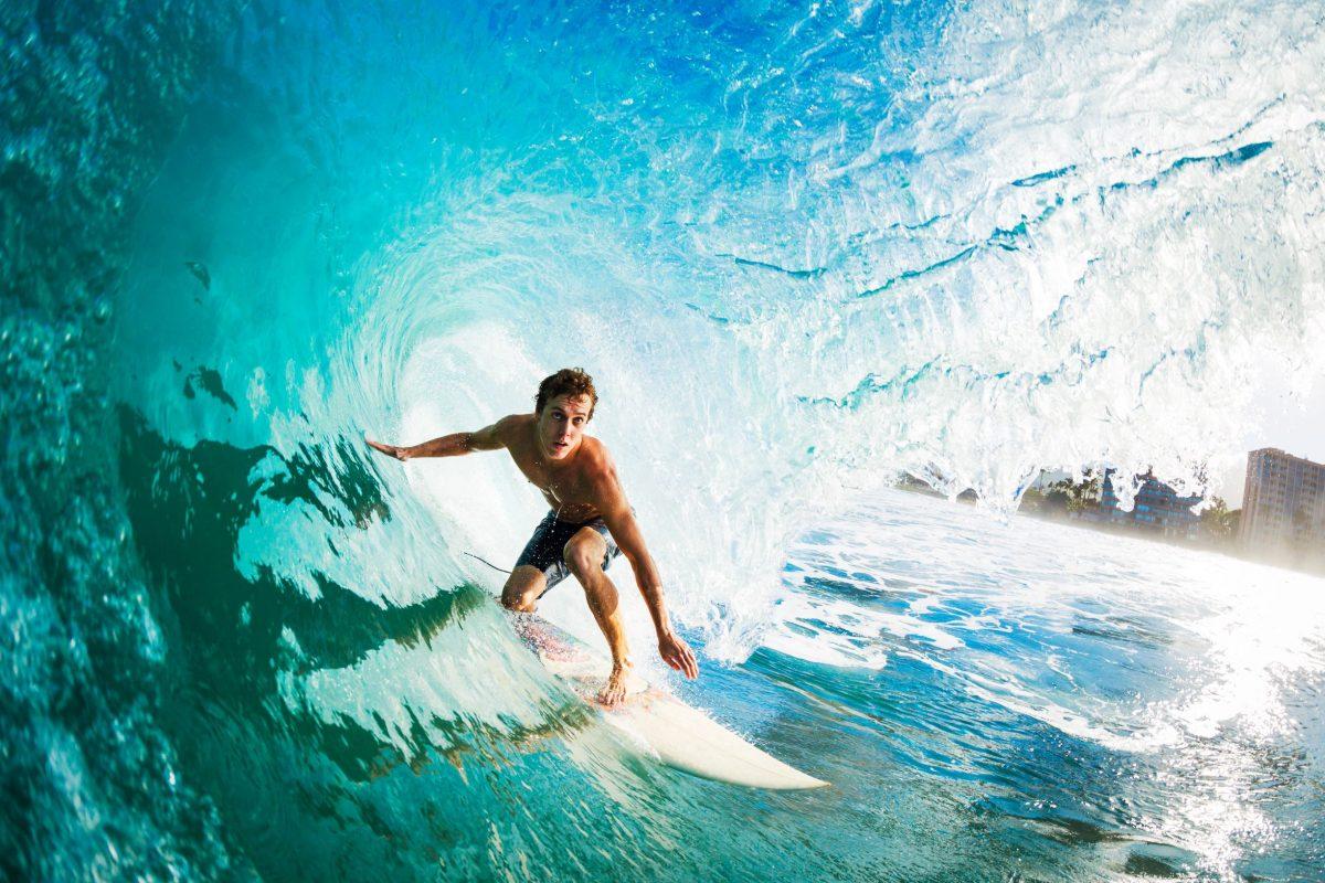 Beneficios, riesgos e inconvenientes del surf
