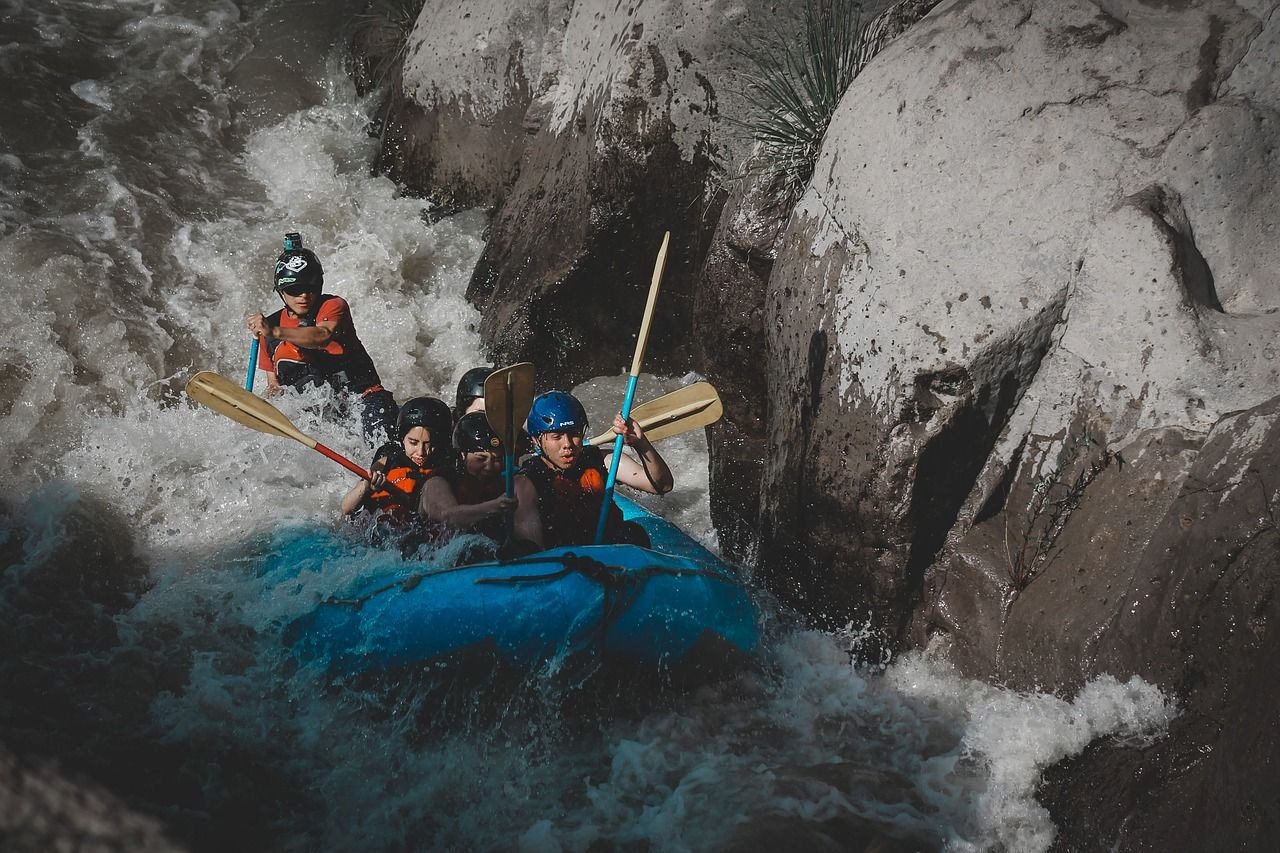 Beneficios Rafting