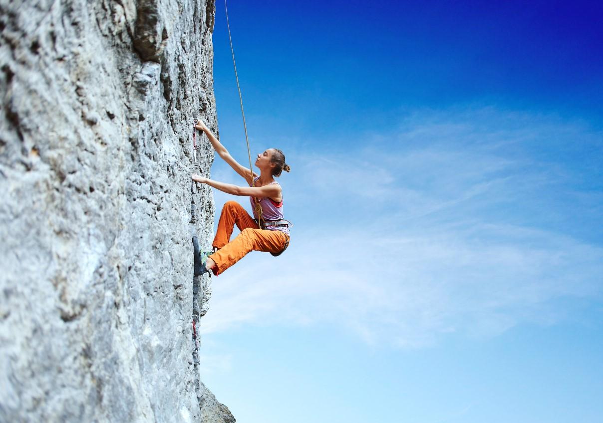 Beneficios de la escalada