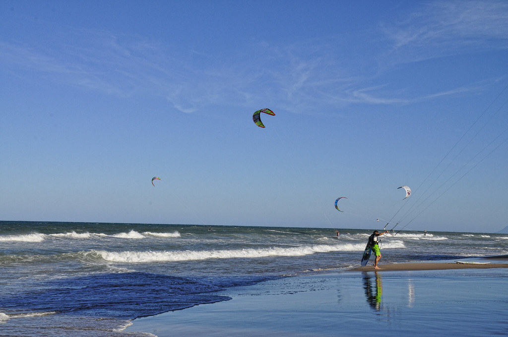 Mejores lugares para hacer kitesurf