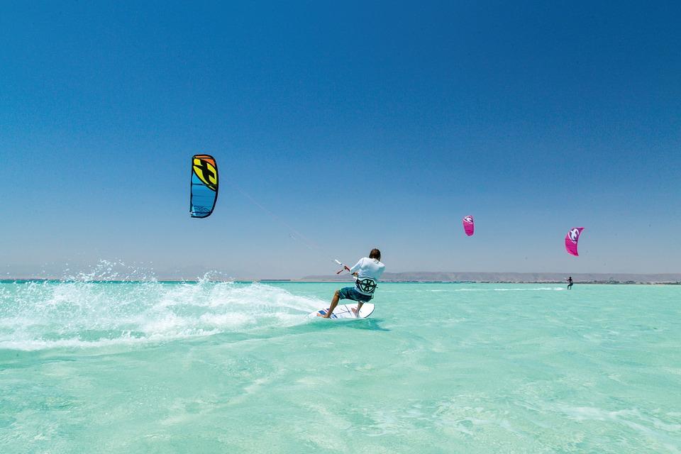 Kitesurfing principiantes
