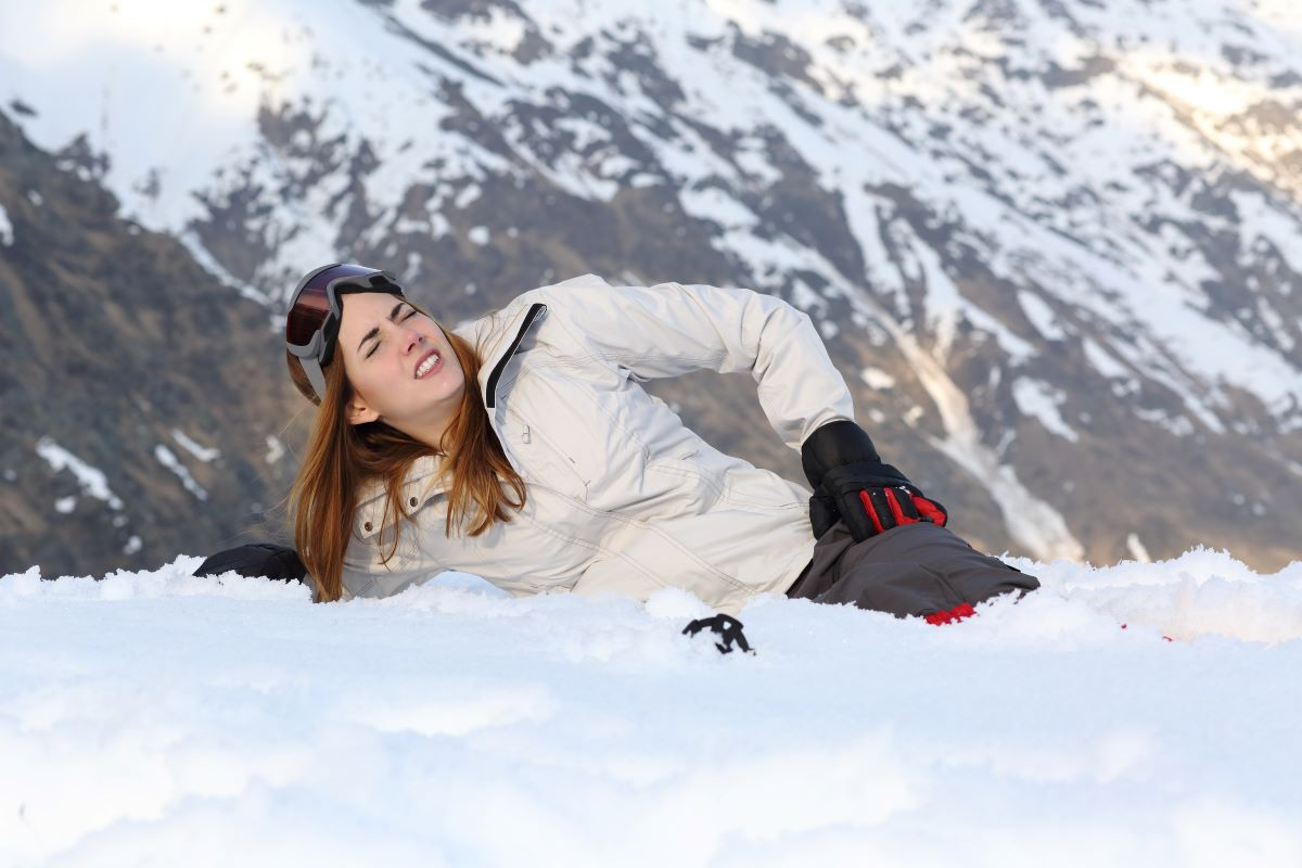Lesiones más frecuentes en esqui