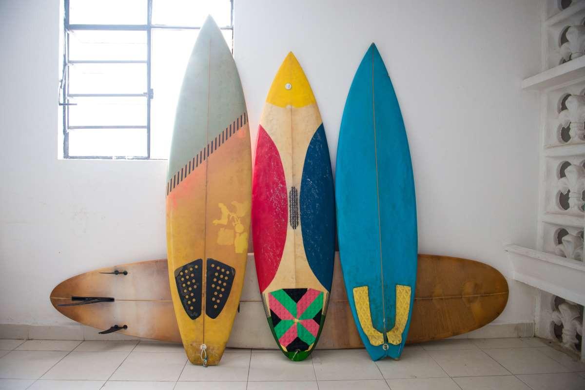 Litros tabla de surf