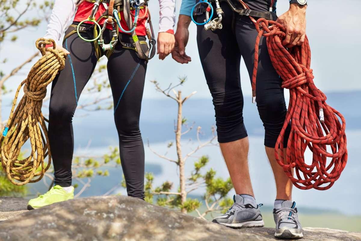 Mantenimiento cuerda escalada