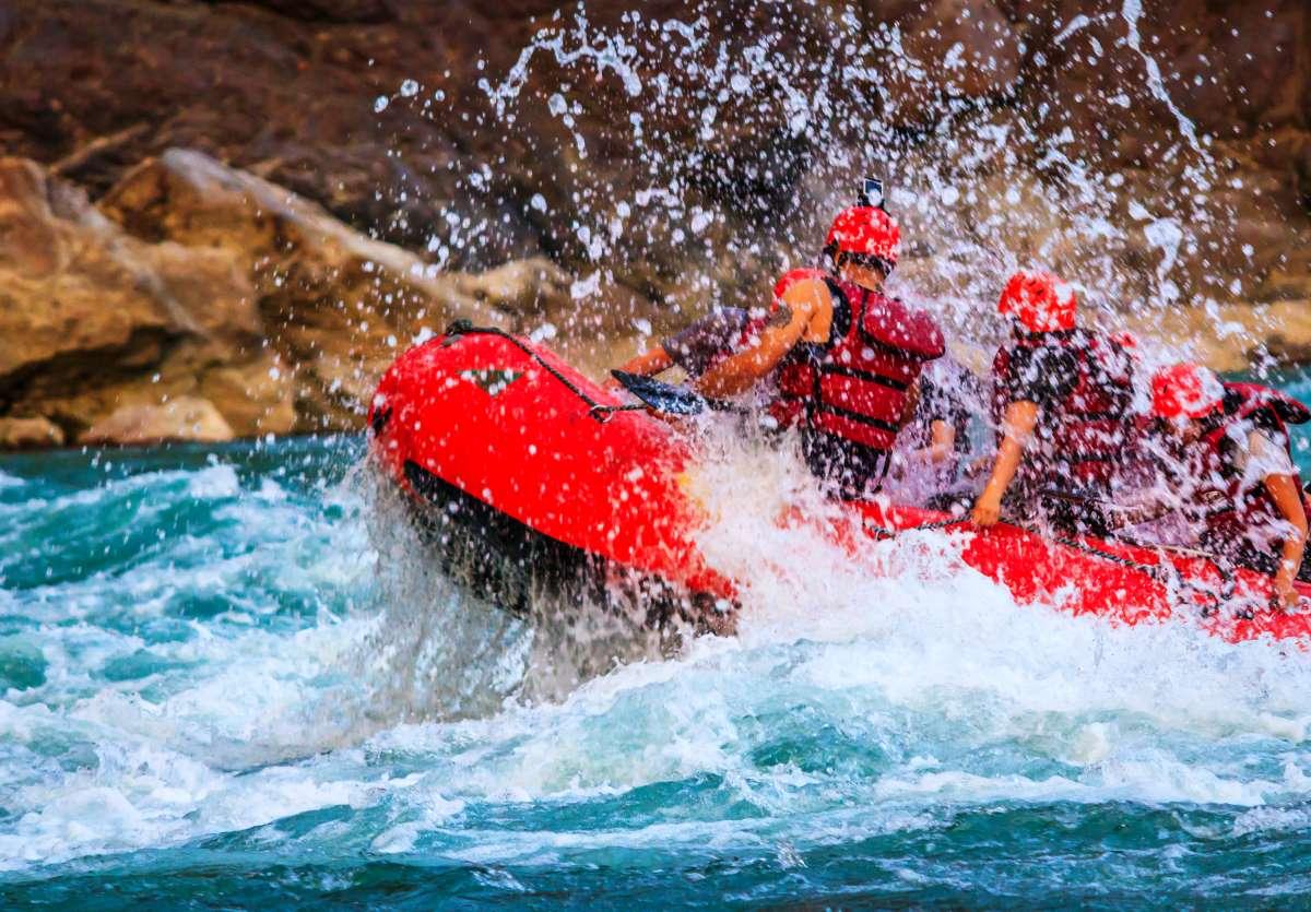 Mejores sitios rafting