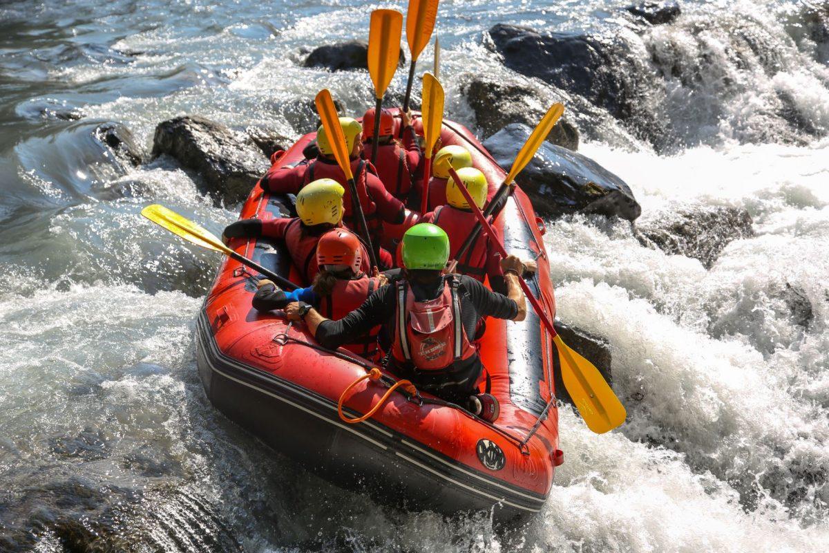 Rafting en valencia
