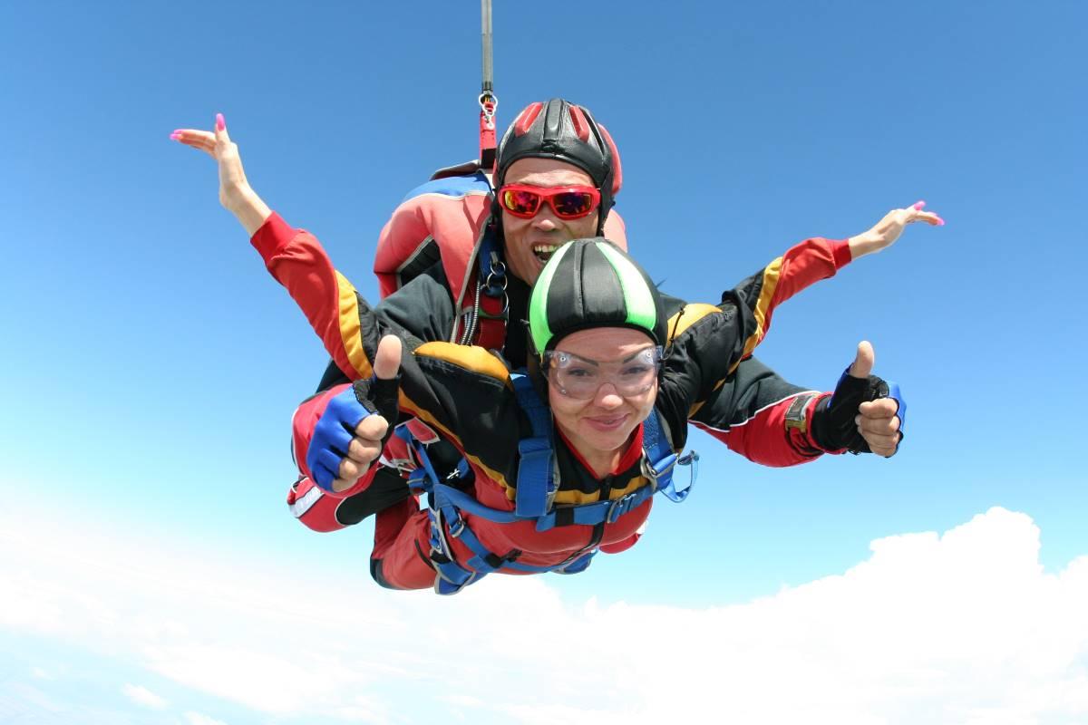 Tirarse en paracaídas primera vez 1