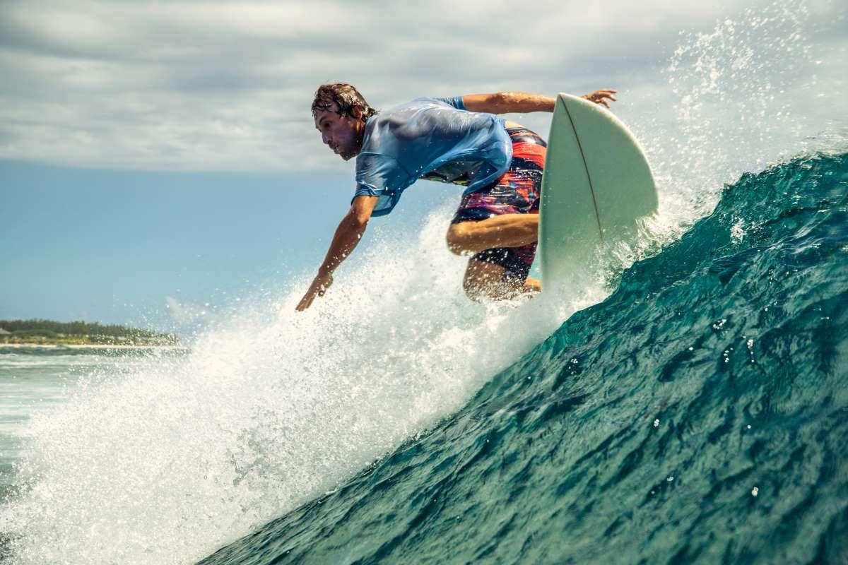 Trucos y habilidades de surf