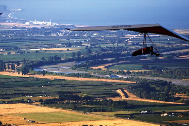 vuelo en ala delta