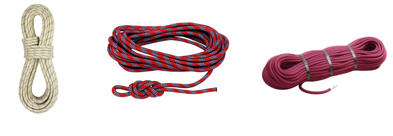 cuerda estatica, semiestatica y dinamica
