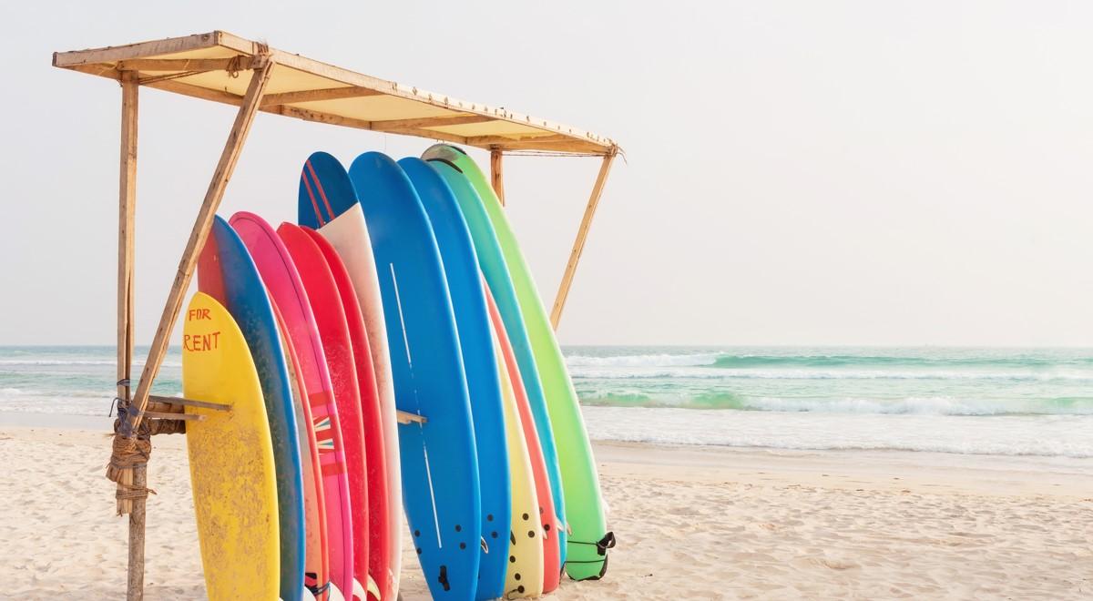 material tablas de surf