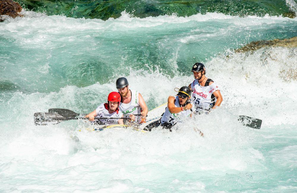 Dónde practicar rafting en familia