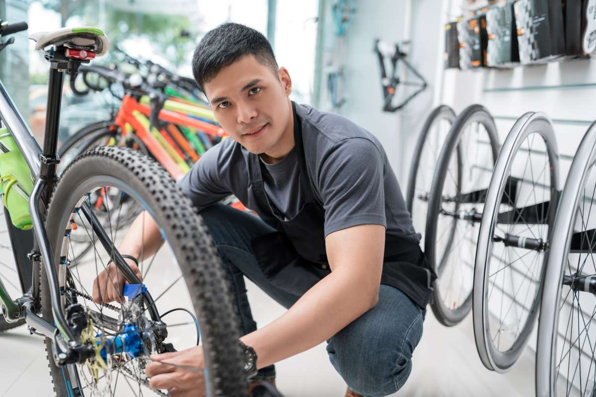 revisar transmision bici
