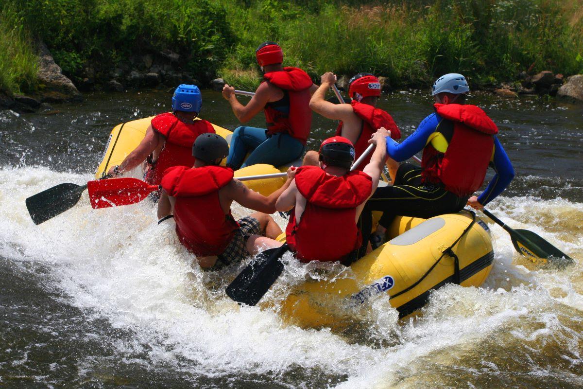 Tipos de rafting